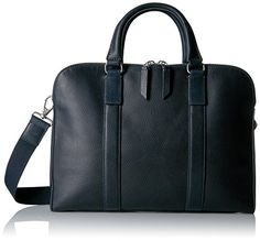 a296bed13d Fossil Men s Mayfair Leather Double Zip Workbag