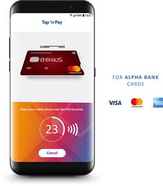 my Alpha wallet Alpha Bank, Digital Wallet, Bank Card, Visa Card, Phone, Cards, Telephone, Map, Mobile Phones