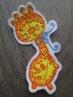Shops, Giraffe, Baby Dolls, Dinosaur Stuffed Animal, Christmas Ornaments, Ebay, Holiday Decor, Appliques, Handarbeit