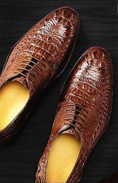 100% Genuine Real Crocodile Belly Skin Shinny Black Color Leather Men Shoe Durable Solid Crocodile Skin Men Dress Shoe Official Street Price Shoes
