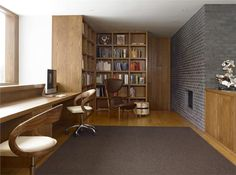 Open Contemporary Home Office by Kathryn Scott on HomePortfolio