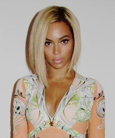 beyonce a line haircut | The Beyoncé haircut saga continues. She posted this photo on her ...