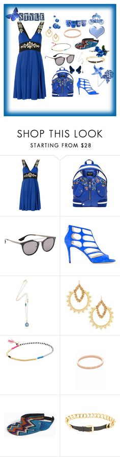 """Untitled #1298"" by jamuna-kaalla ❤ liked on Polyvore featuring Stefano de Lellis, Moschino, McQ by Alexander McQueen, Jimmy Choo, Chantecler, Devon Leigh, Shashi, Kate Spade, Missoni and Chanel"