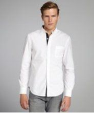 A new social shopping site centered around gift-giving. White Shirt Men, Classic White Shirt, White Shirts, Shopping Sites, French Connection, Poplin, White Cotton, Shirt Dress, Button