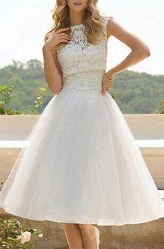 short a line dress