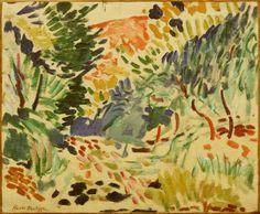 Henri Matisse, Landscape at Collioure, 1905, Museum of Modern Art, New York City.