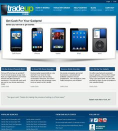 Trade Up Mobile provides an easy, safe and fast way to sell your used gadgets online. We pay for shipping and payment is sent within 24 hours.