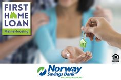 This week's featured Green Key Lender is Norway Savings Bank. Ask Norway Savings Bank or your nearest lender about our First Home Loan and $3,500 towards closing costs! mainehousing.org/mainehousing-lenders #Maine #MaineHousing #FirstHomeLoan #firsttimehomebuyer #NorwaySavingsBank