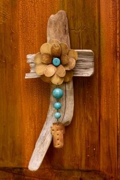 These sweet driftwood crosses have an inner essence that speaks softly to anyone who listens. #driftwood  #collection