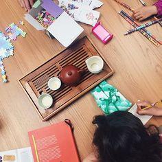 #afternoontea #vsco #teaaddict #chinesetea #teaholic #kidscrafts #dublin #plusplus #chineasy