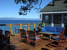 Lake Tahoe lake house