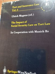 the impact of social security law on tort law Torts Law, Insurance Law, Social Security, Ebay, Pocket Books