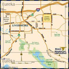 Locator map for event © Eureka Cartography, Berkeley, CA