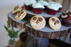 Super cute woodland owl birthday party theme