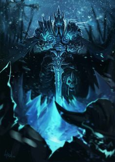 Wrath of the Lich king. King Arthas and him army of dead