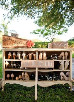 How To Throw The Ultimate Garden Wedding: #7. Rest & Relief Station