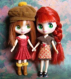 My two LPS Blythe dolls dressed for Autumn. | Flickr - Photo Sharing!
