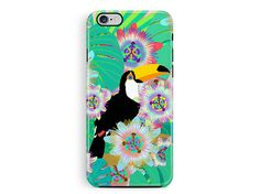 Protective Phone case, iPhone 6 protective case, iPhone 5s protective case, Toucan Phone Case, Nature phone Case, Wildlife Lover Gifts, hard