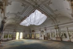 save the last dance for me - captured in the ball room of the abandoned Grand Hotel di P. in Italy. (2014)