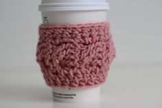 To go cup cozy Starbucks cup cozies stocking by macherieshop, $7.00