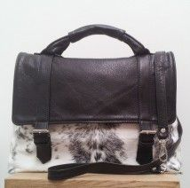 Cowhide Handbag The Hk Satchel Each Piece Is Handmade And Cut With A Unique Pattern Showcasing Beauty Of New Zealand