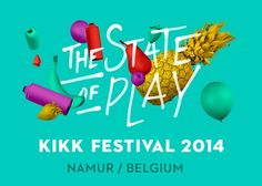 KIKK Festival 2014. 6th November 2014. Namur, Belgium