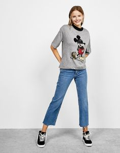 - Ver: 4: adidas Originals Trefoil camiseta vestido de gran tamaño