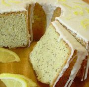 Lemon Poppy Seed Pound Cake