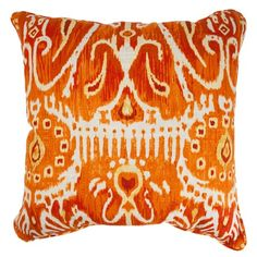 I pinned this Square Cerva Pillow in Pumpkin from the Pillow Perfect event at Joss and Main!