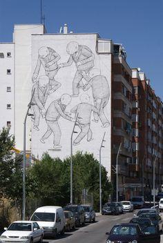 Blu, Madrid - unurth | street art