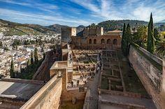 Alhambra Palace/Fortress by Adam Rainoff