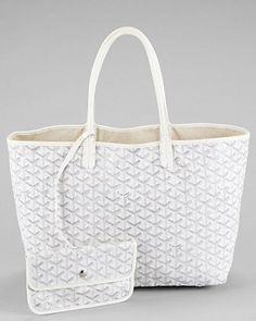 Goyard...the perfect summer bag to carry everything!