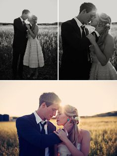 i love taking portraits like this with the sun setting in the middle of the couple…very Pride & Prejudice-esk!