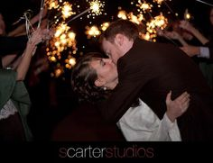 favorite sparkler exit photo to date
