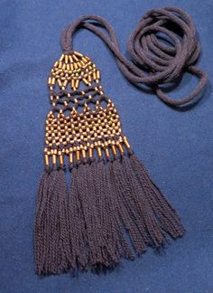 Male tassel belt, inspired by Eura Luistari grave Finnis iron age. Viking Garb, Viking Dress, Viking Costume, Tablet Weaving, Loom Weaving, Hand Weaving, Fabric Weaving, Larp, Viking Embroidery