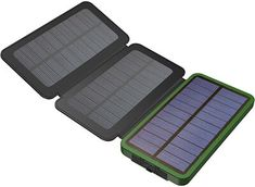 Some solar chargers have USB port which can be used for charging. But, some devices are more power hungry and will require an adapter for fast and effective charging. So, go on and hover the cursor and scroll down the top 10 best solar phone chargers. Solar Energy Panels, Solar Panels For Home, Best Solar Panels, Solar Energy System, Solar Powered Phone Charger, Solar Phone Chargers, Solar Charger, Solar Panel System, Panel Systems