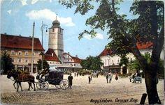 Sibiu - Piata - antebelica Hungary, Romania, Poland, Street View, Moldova