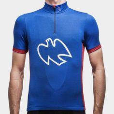 Peace Jersey Limoges Blue