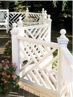 Love the railing for deck #PinMyDreamBackyard