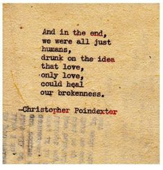-Christopher Poindexter poetry