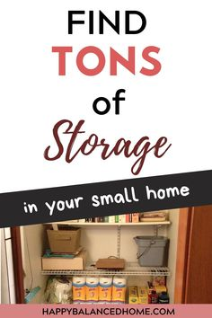 How can you find more storage space in your small home. Creative Storage, Storage Solutions, Bathroom Medicine Cabinet, Storage Spaces, Home Decor, Homemade Home Decor, Interior Design, Home Interiors, Decoration Home