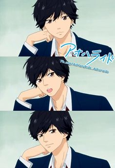 Oh my gosh Kou I can stare at you all day