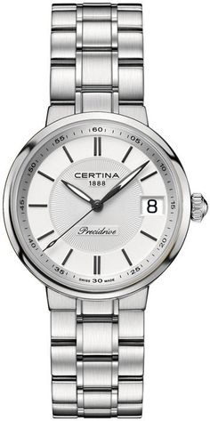 Certina Watch DS Stella #add-content #basel-16 #bezel-fixed #bracelet-strap-steel #brand-certina #case-depth-8-7mm #case-material-steel #case-width-31-6mm #date-yes #delivery-timescale-1-2-weeks #dial-colour-silver #gender-ladies #luxury #movement-quartz-battery #new-product-yes #official-stockist-for-certina-watches #packaging-certina-watch-packaging #style-dress #subcat-ds-stella #supplier-model-no-c031-210-11-031-00 #warranty-certina-official-2-year-guarantee #water-resistant-100m