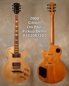 Back in 2000, Gibson produced a small number of pickup demo Les Paul Standards. Used by reps to give examples of how the different Gibson pickups sounded, these guitars featured a unique design that allowed the user to quickly swap pickups without removing the strings. $2,500. Gibson Les Paul, Guitar Boy, Baby Singing, Les Paul Standard, Gibson Guitars, Body Electric, Musical Instruments, Musicals, Entertainment