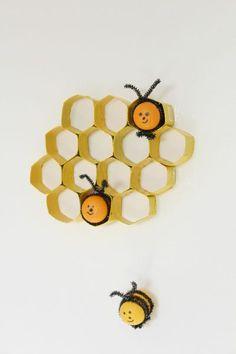 kinder egg bee