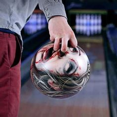 Bowling ball art