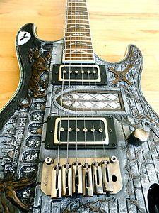 Ibanez SAS32EX Gig Custom Carved Gargoyle One Off Electric Guitar Mint w OHSC | eBay