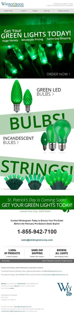 Green Led, I Site, Incandescent Bulbs, Email Marketing, Christmas Lights, How To Find Out, Design, Christmas Fairy Lights