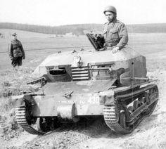 "bmashina: ""Czech soldier in the wedge "" Tančík vz.33"" """