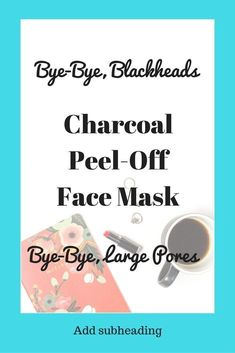 Cherioll Charcoal Peel Off Face Mask for Blackheads, Large Pores, Oily Skin – re… – Keep up with the times. We're here for you. Face Mask For Blackheads, Acne Face Mask, Face Face, Face Skin, Skin Mask, Pore Mask, Blackhead Mask, Face Scrub Homemade, Homemade Face Masks